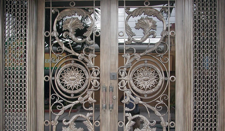 Custom made wrought iron doors, Thornhill