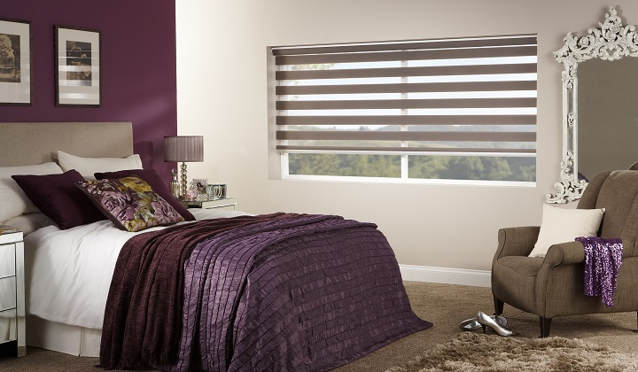 Vision capri sand color blinds