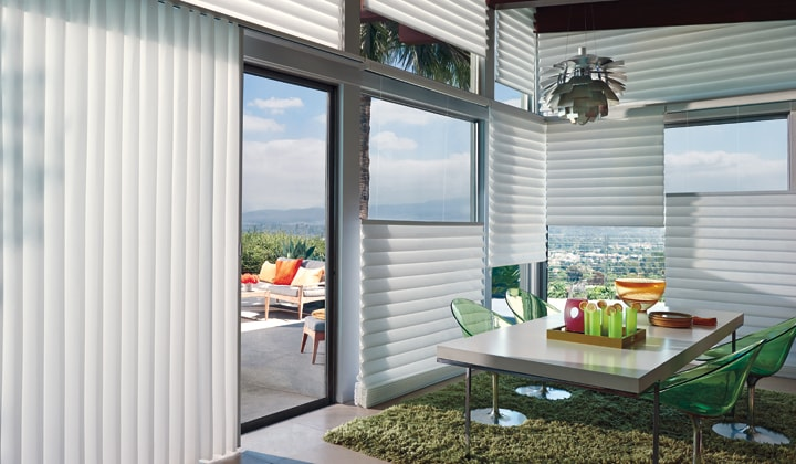 Hunter Douglas window blinds by Antonini Drapery,  Vaughan