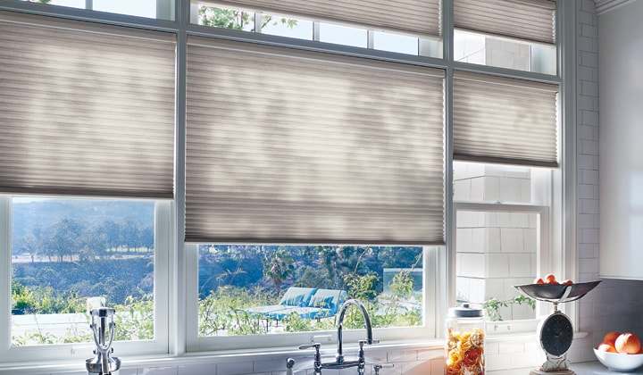 Slide down window coverings Markham