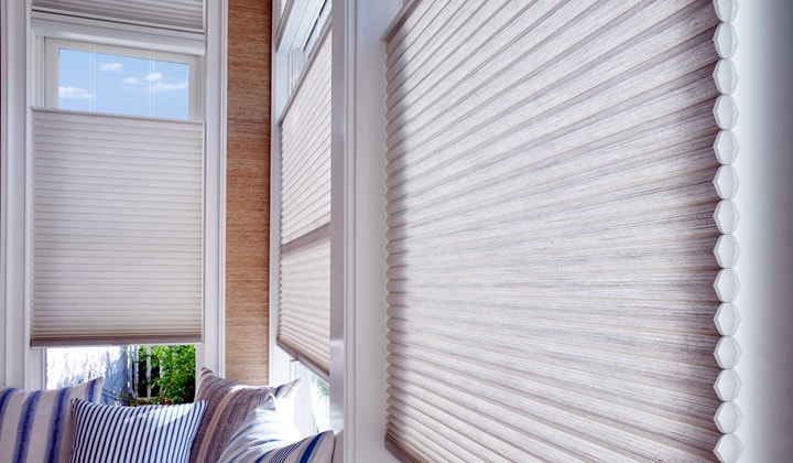 Automated window coverings by Antonini Drapery, Richmond Hill