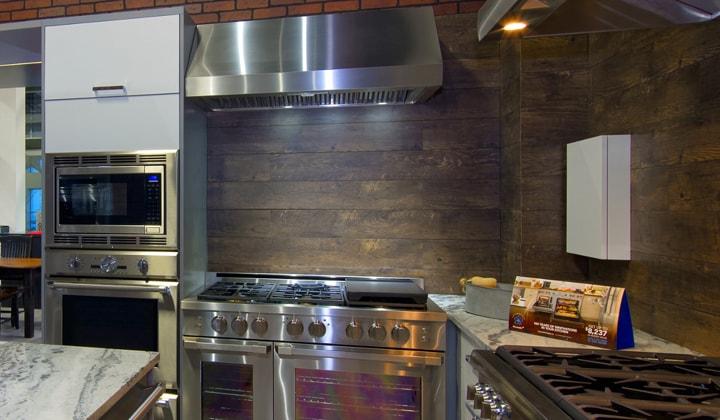 Major Kitchen Appliances At Best Brand Appliances, Improve Mall Showroom