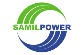 Samil Power. Logo