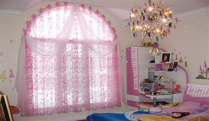Kid`s Room Custom Sheer curtains Richmond Hill
