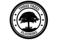 3 Trees Hardwood Flooring. Logo