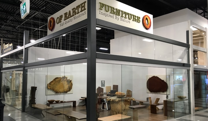 Of Earth Furniture Logo