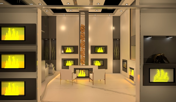 Retail Store 3D Rendering - Masamo Design
