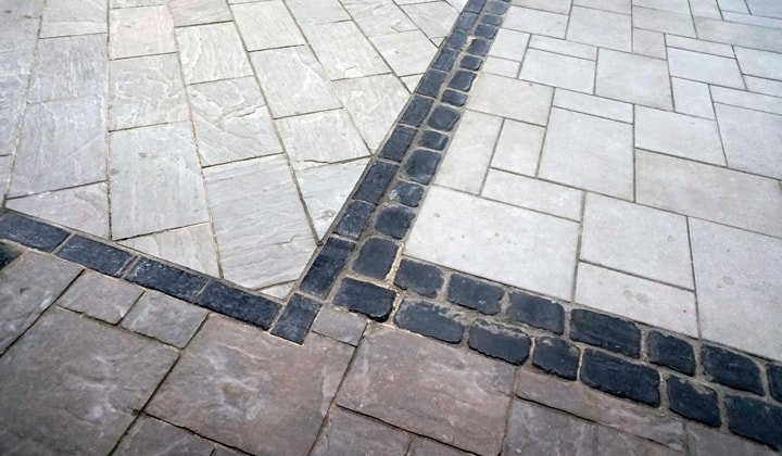 Natural stone driveway paving, great selection of quality natural stone