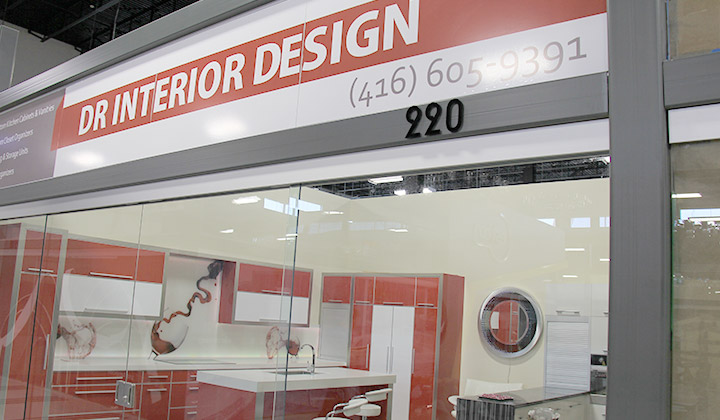DR Interior Design Logo