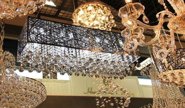 Different styles lighting fixtures and chandeliers, Wonder Home Lighting & Furniture store at Improve Mall