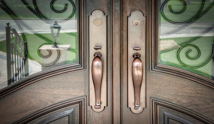 Custom made exterior doors by Master Doors
