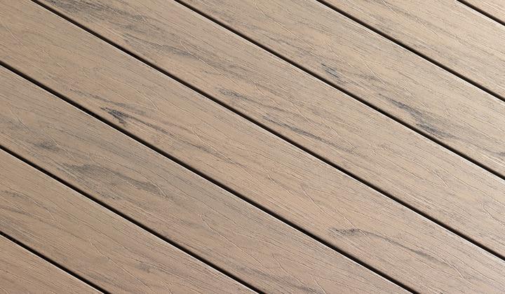 Hazel wood Composite Deck Colour