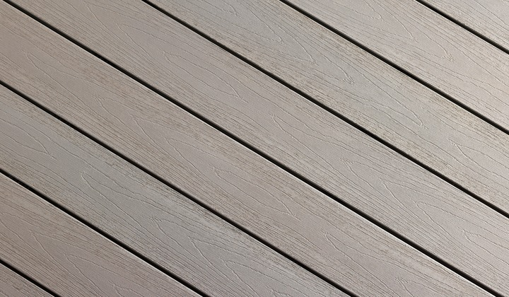 Stone Grey Composite decking - 1 of 10 colours available
