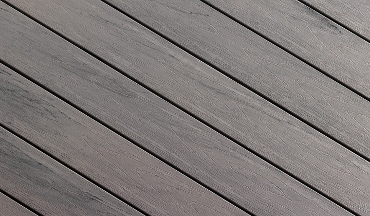 Amazon Grey Composite Deck Colour