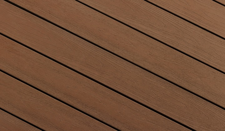 Mocha Composite Deck Colour