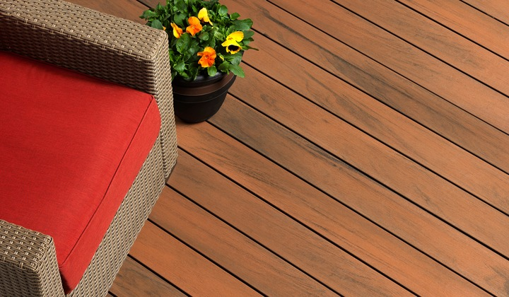 Tiger Wood Composite Deck Colour
