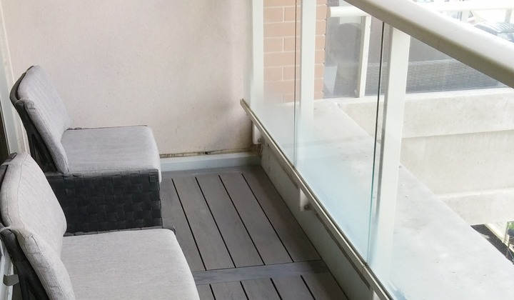 Amazon Grey Balcony flooring Composite Deck boards