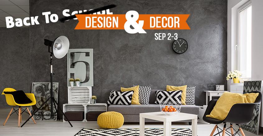 Design And Decor Sales Event
