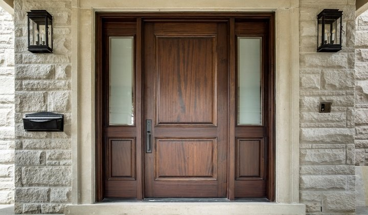 Solid Wood exterior doors by Master Doors