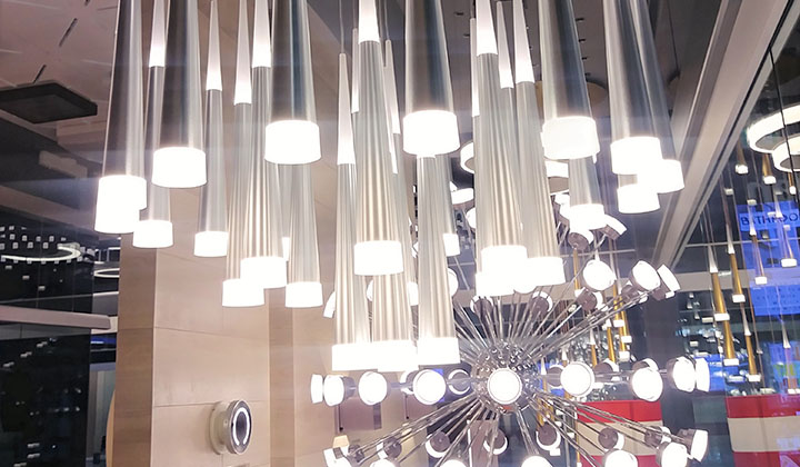 Versatile Chic Lights at Tubicen Lighting, Improve Mall
