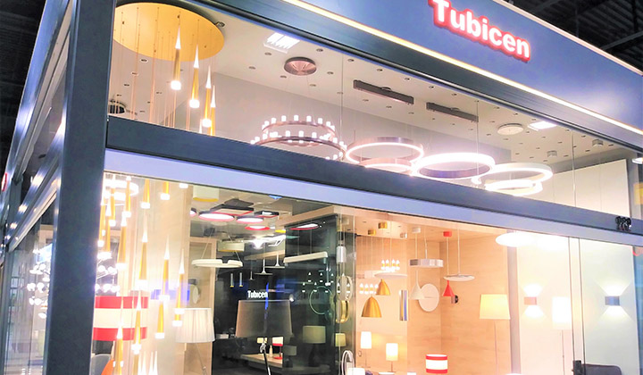 Tubicen Lighting showroom at Improve Mall