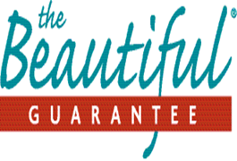 The Beautiful Guarantee. Logo