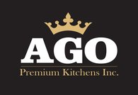 AGO Premium Kitchens. Logo