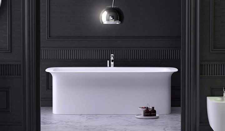 Luxury modern design freestanding tub