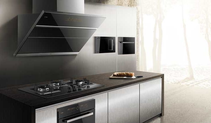 Fotile Kitchen Appliances showroom at Improve Canada Mall, Vaughan