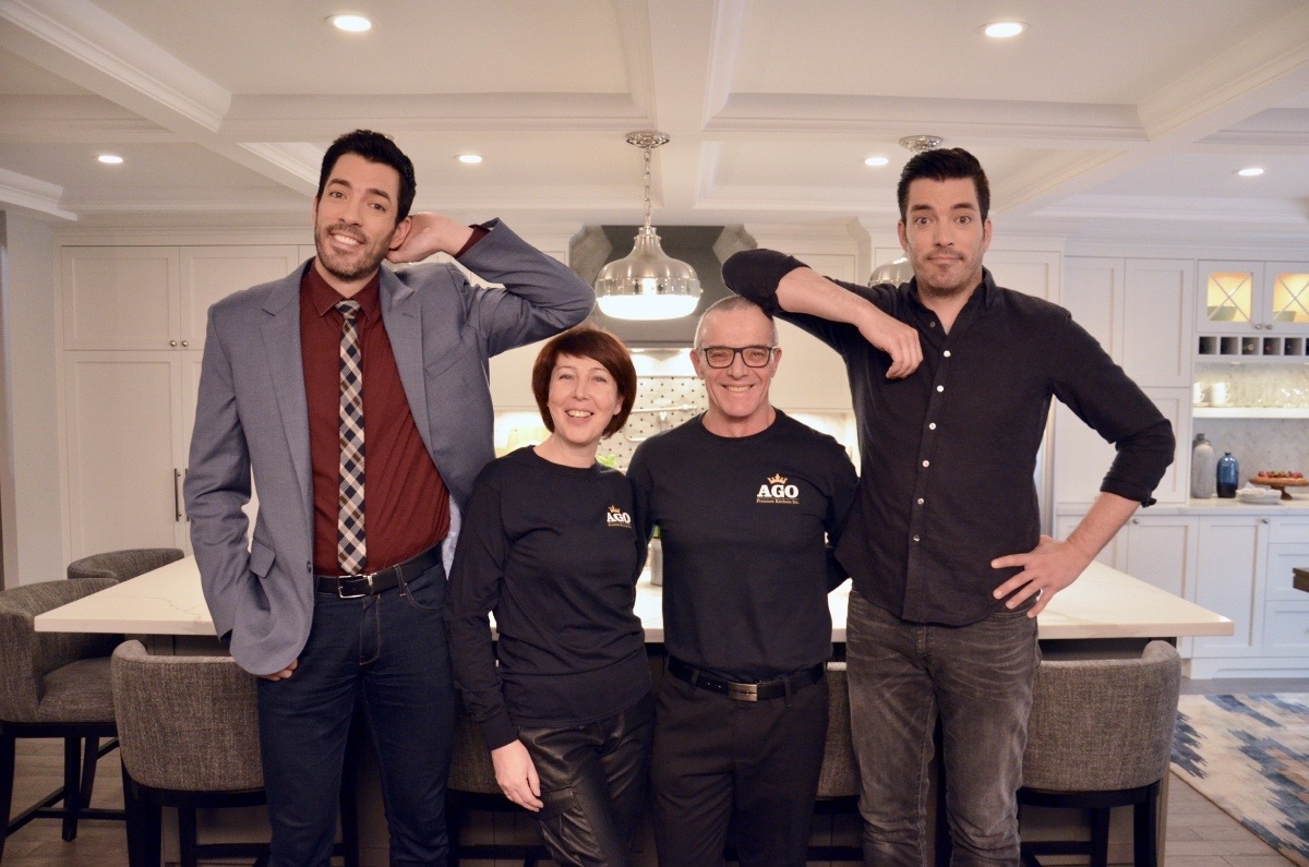 AGO Kitchens & The Property Brothers