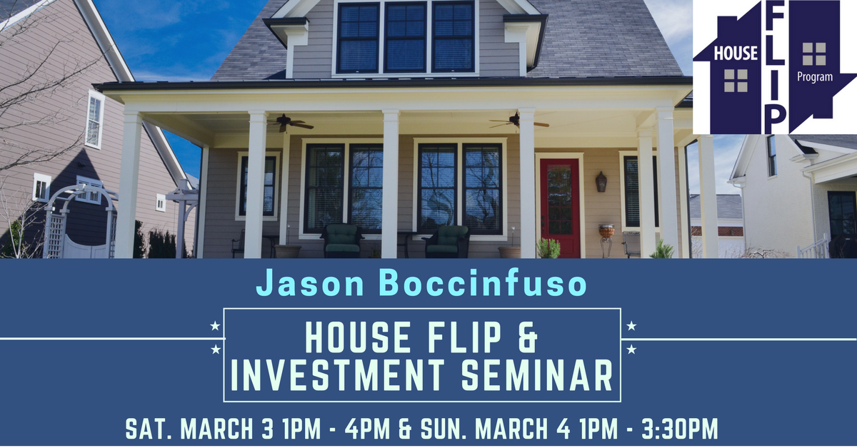 House Flip and Investment Seminar