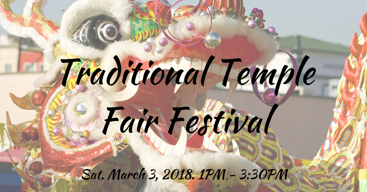 Traditional Temple Fair Festival at Improve Canada