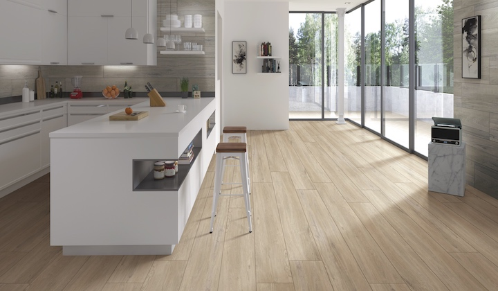 Wood Look Tiles, North American Oak design with combination of 3D texture exquisite