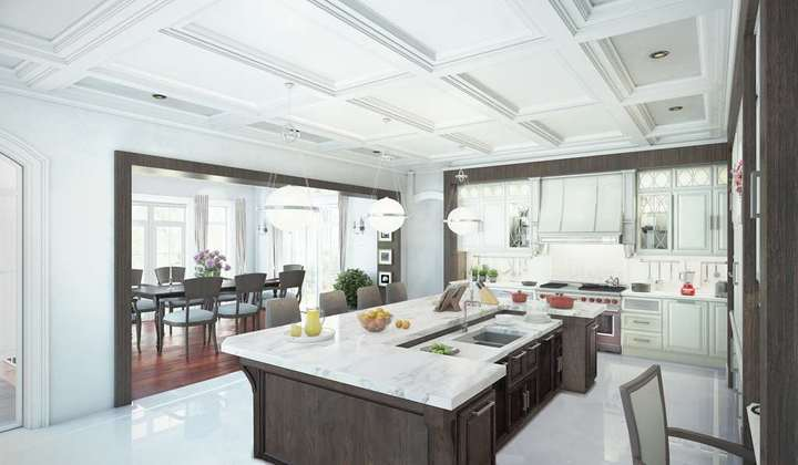 Spacious and modern kitchen by Star Woodworking