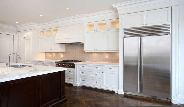 Elegant Custom Kitchen project by Star Woodworking