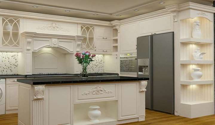 Detailed Custom Kitchen project by Star Woodworking