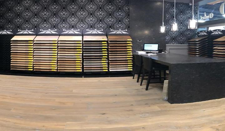 Chestnut Flooring showroom at Improve