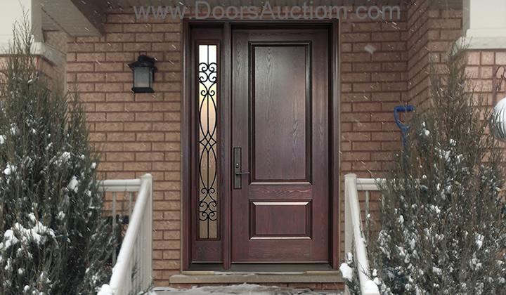 Caspian gates at improve canada mall for Fiberglass exterior doors canada