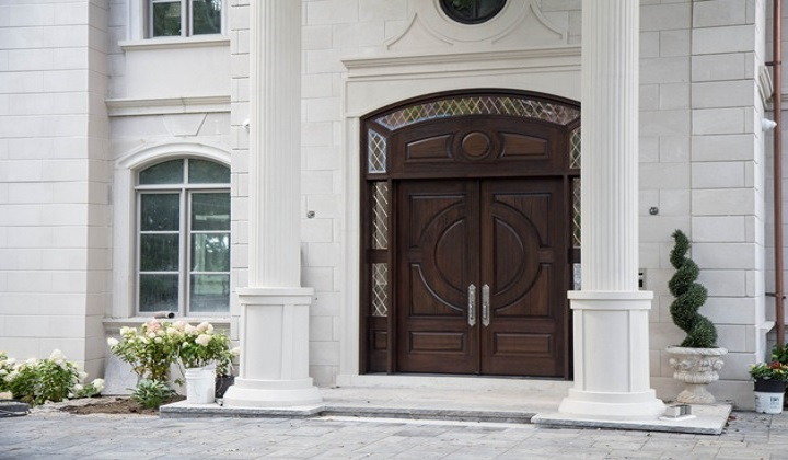 Hand crafted, custom designed, solid wood doors