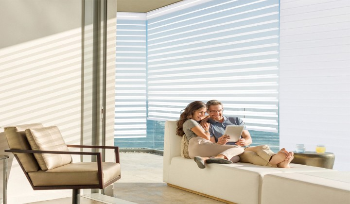 Window treatments by V+Homes