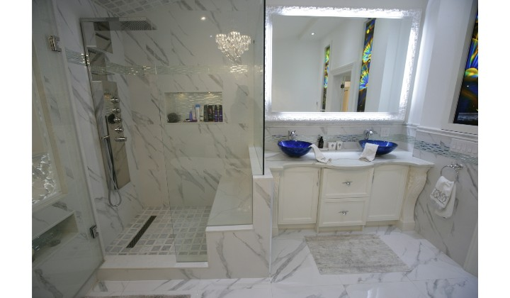 Bathroom design and renovation by NK New Design, Toronto