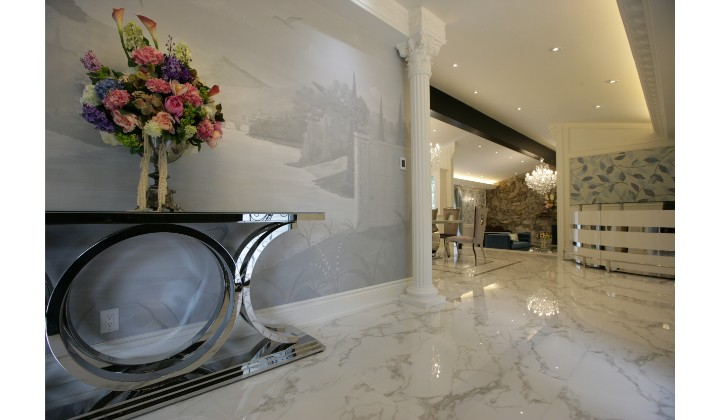 Entire house design and renovation by NK New Design, Vaughan