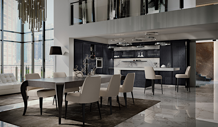 High quality Designer Italian Kitchen by Martini Mobili
