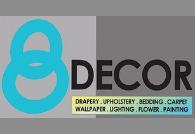 8 Decor Design Logo