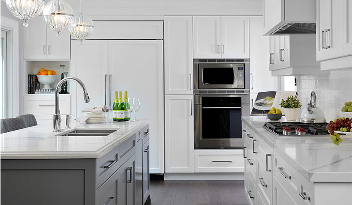 Transitional Kitchen Renovation, Mississauga