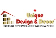 Unique Design & Decor Logo