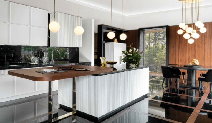 Kitchen cupboard designs by Castagna Cucine