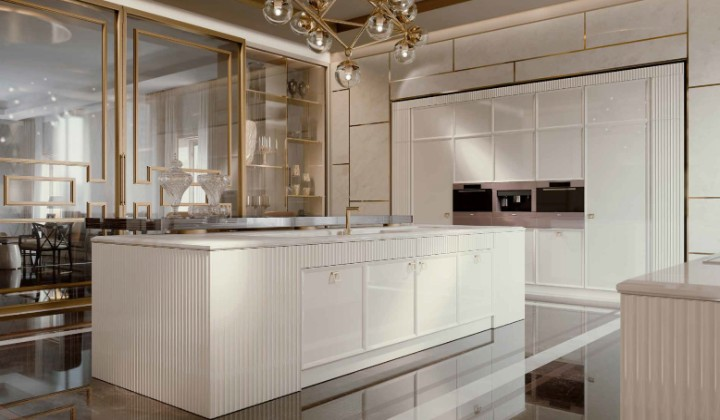 Latest kitchen cupboard designs from Europe