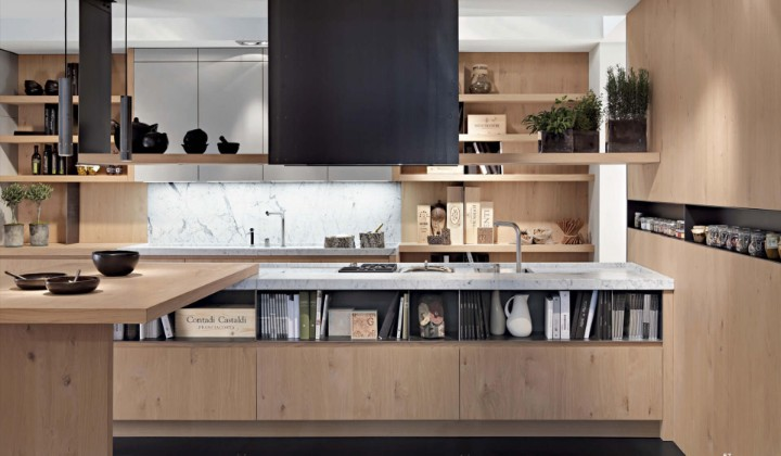 European contemporary kitchen cabinets