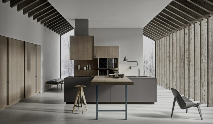 Modern kitchen designs, big or small